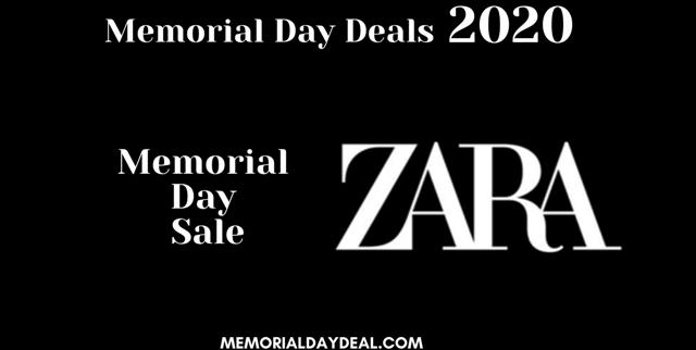 Get Up to 50% OFF - ZARA Memorial Day Sale & Deals 2021