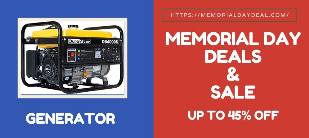 Generator Memorial Day Deals, Generator Memorial Day Sale, Generator Memorial Day Sales